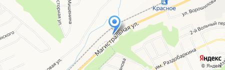 СВ на карте Белгорода