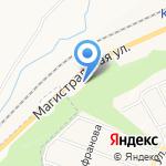 Аустерия на карте Белгорода