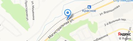 АЗС ЛТК на карте Белгорода