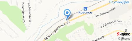 Мир срубов на карте Белгорода