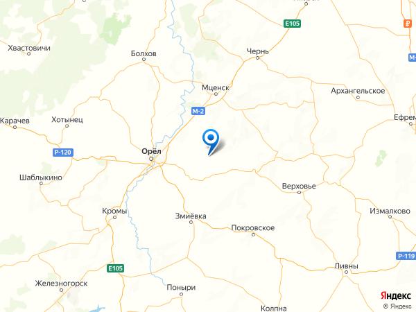 деревня Казинка на карте