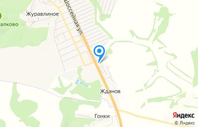 Местоположение на карте пункта техосмотра по адресу Белгородская обл, Яковлевский р-н, х Жданов, ул Шоссейная, д 11