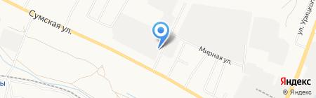 МЕТиС на карте Белгорода