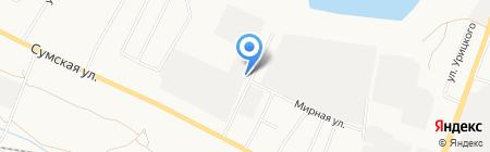 Белтехмонтаж на карте Белгорода