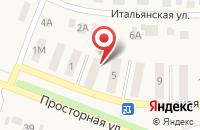 Схема проезда до компании Техносервис31 в Репном