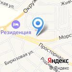 Блиц на карте Белгорода
