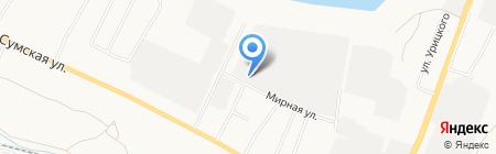 На высоте на карте Белгорода