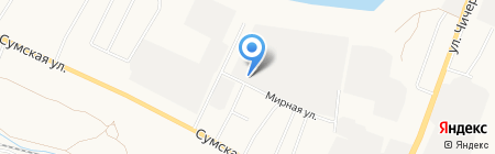 ЭнергоЛига на карте Белгорода