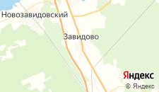 Гостиницы города Завидово на карте