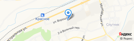 Дом цветов на карте Белгорода