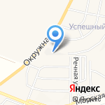 Автомат на карте Белгорода