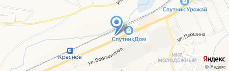 Авто-Белогорье на карте Белгорода