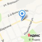 Кружка на карте Белгорода