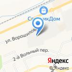 Белкухня на карте Белгорода