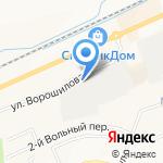 Дезинфекционная станция в г. Белгород на карте Белгорода