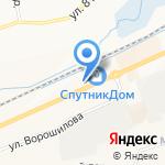 Древпласт на карте Белгорода