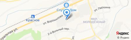 Прохлада на карте Белгорода