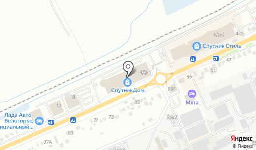 Золотая нить. Схема проезда в Белгороде