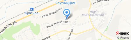 Котас Хаус на карте Белгорода