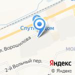 Макрострой на карте Белгорода