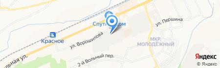София на карте Белгорода