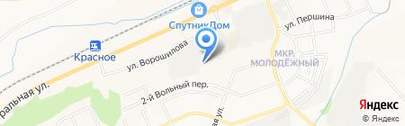 Глобал-Сталь на карте Белгорода