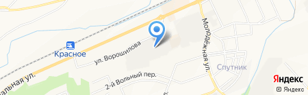 Метатрон на карте Белгорода