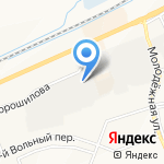 Печати5 на карте Белгорода
