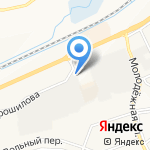 Салон тонировки на карте Белгорода