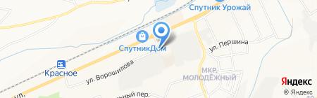 Термостиль на карте Белгорода