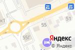 Схема проезда до компании Форсаж в Белгороде