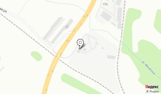 РТ Бетон. Схема проезда в Белгороде