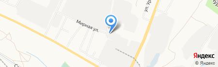 Мирный на карте Белгорода