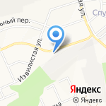 Фаворит на карте Белгорода