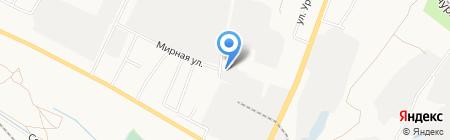 Промгаз на карте Белгорода