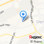 Карамель на карте Белгорода