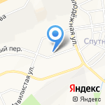 Арбат на карте Белгорода