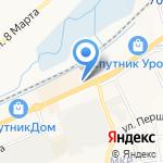 МЕМОРИАЛ на карте Белгорода