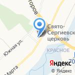 Основная общеобразовательная школа №34 на карте Белгорода