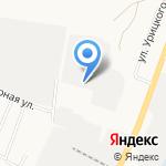 Квинта на карте Белгорода
