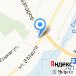 Храм преподобного Сергия Радонежского на карте Белгорода