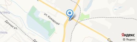 Автореал на карте Белгорода