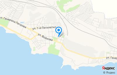 Местоположение на карте пункта техосмотра по адресу Респ Крым, г Керчь, ул Энгельса, д 6