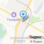Салон винилискожи на карте Белгорода