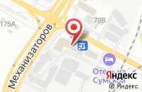 Схема проезда до компании СтройТелеком в Белгороде