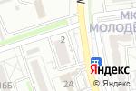 Схема проезда до компании Три Короны в Белгороде