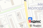 Схема проезда до компании Молодежный в Белгороде