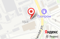Схема проезда до компании Объединенные системы в Белгороде