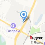 Спецавтотранспорт на карте Белгорода