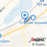 Магазин ковров на карте Белгорода